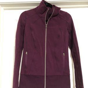 lululemon athletica Tops - Lululemon nice asana size 6 burgundy maroon jacket